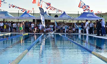 Kahramanmaraş Belediyesi Yarı Olimpik Yüzme Havuzu